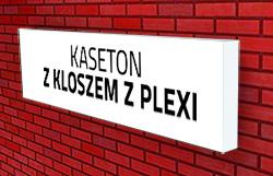 kasetony z kloszem z plexi Poznań