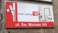 Tablica naścienna systemowa Poznań