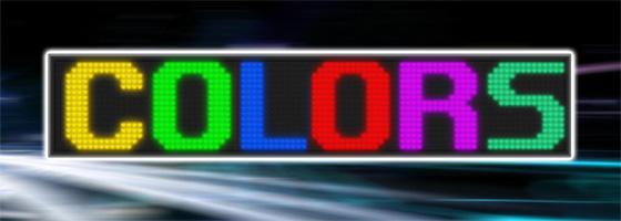 Wyświetlacze 25-kolorowe