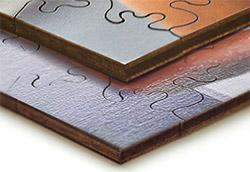 druk puzzli drewnianych i ze sklejki