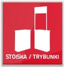 trybunki - stoiska