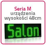 Wyświetlacze jednokolorowe Seria M