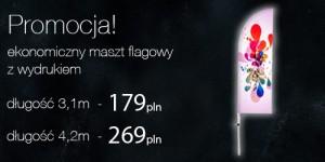 tanie flagi reklamowe Poznań