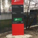 producent pylonów reklamowych
