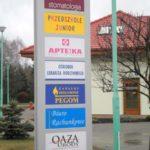 produkcja pylonów podświetlanych