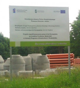 tablica unijna pamiątkowa Poznań