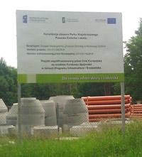 tablice unijne wolnostojące