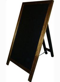 stylowy potykacz drewniany