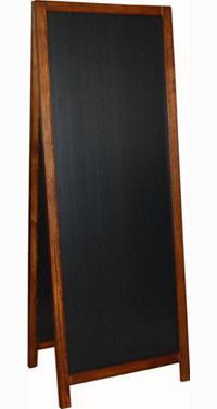 Dwustronny potykacz drewniany