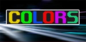 Wyświetlacze kolorowe