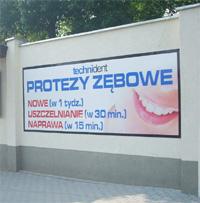 Tablice naścienne z blachy ocynkowanej Poznań