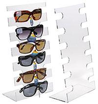 stojak z plexi na okulary