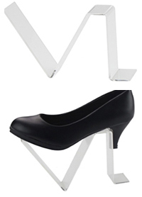 stojak na buty z plexi