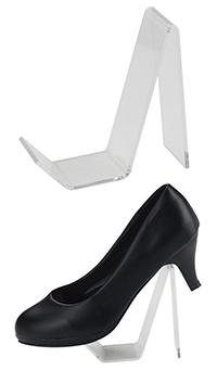 podstawka z plexi na buty