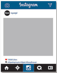 Ramka do zdjęć Instagram