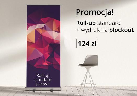 promocja na tanie roll-upy