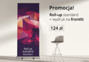promocja na roll-upy