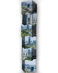 wieża z kubików totem