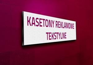 kasetony z licem tekstylnym Poznań