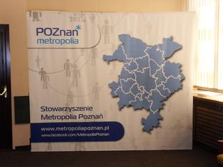 ścianka reklamowa Poznań