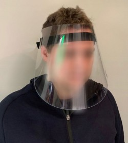Przyłbica ochronna twarzy